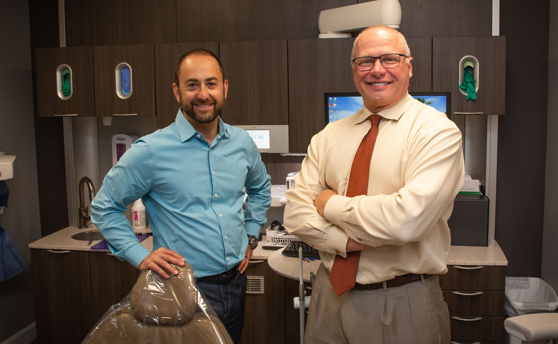 Dr. Richard Boatman, Jr. DMD and Dr. Jordan Spencer DDS